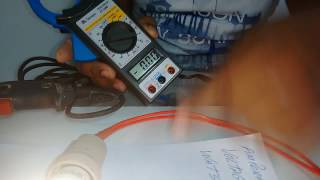 Como medir  a Amperagem