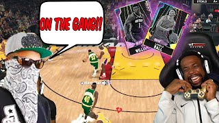 OPAL ZION & LAMELO MADE GANGSTA CALL ME OUT LOL! NBA 2K20 MyTeam