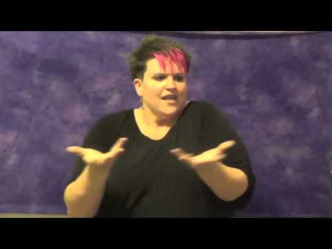 ASL interpretation of What does the fox say - YouTube