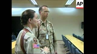 Room where Abu Ghraib courts martial will take place