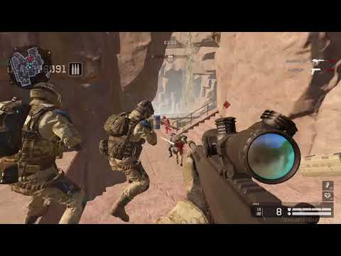 Warface Gameplay 5 - Co-op Mission - Hot Walk - With Playguy - Sniping