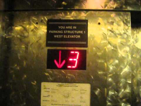 Santa Monica Parking Structure 1 Elevator