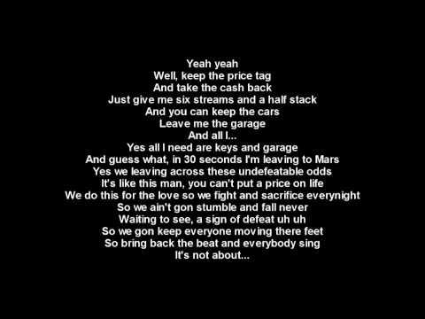 Jessie J Ft. B.o.B - Price Tag + Lyrics