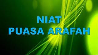 Download Video Lafad Niat Puasa Arafah dan Tarwiyah | Puasa Bulan Dzul Hijjah MP3 3GP MP4