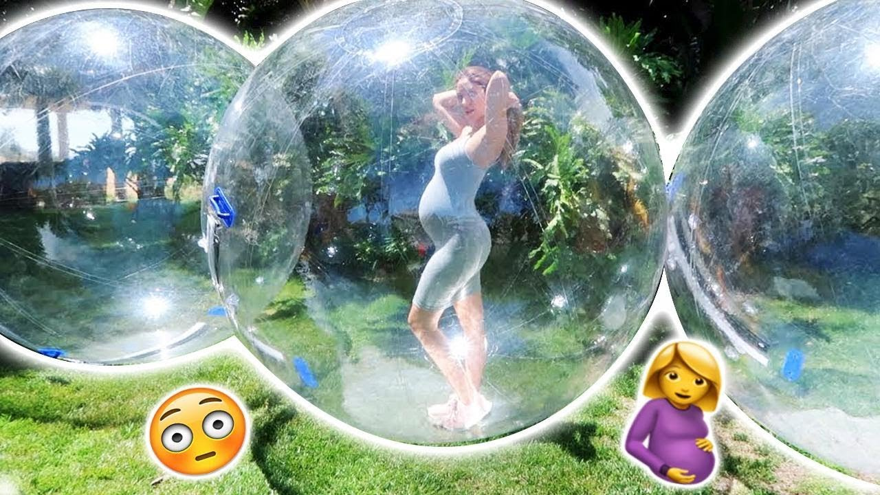catherine-stuck-in-giant-bubble-ball-sorry-but-this-is-something-we-had-to-try