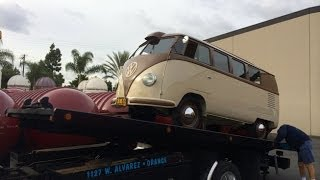 1952 Volkswagen Type 2 Bus Arrival after 3 Year Restoration