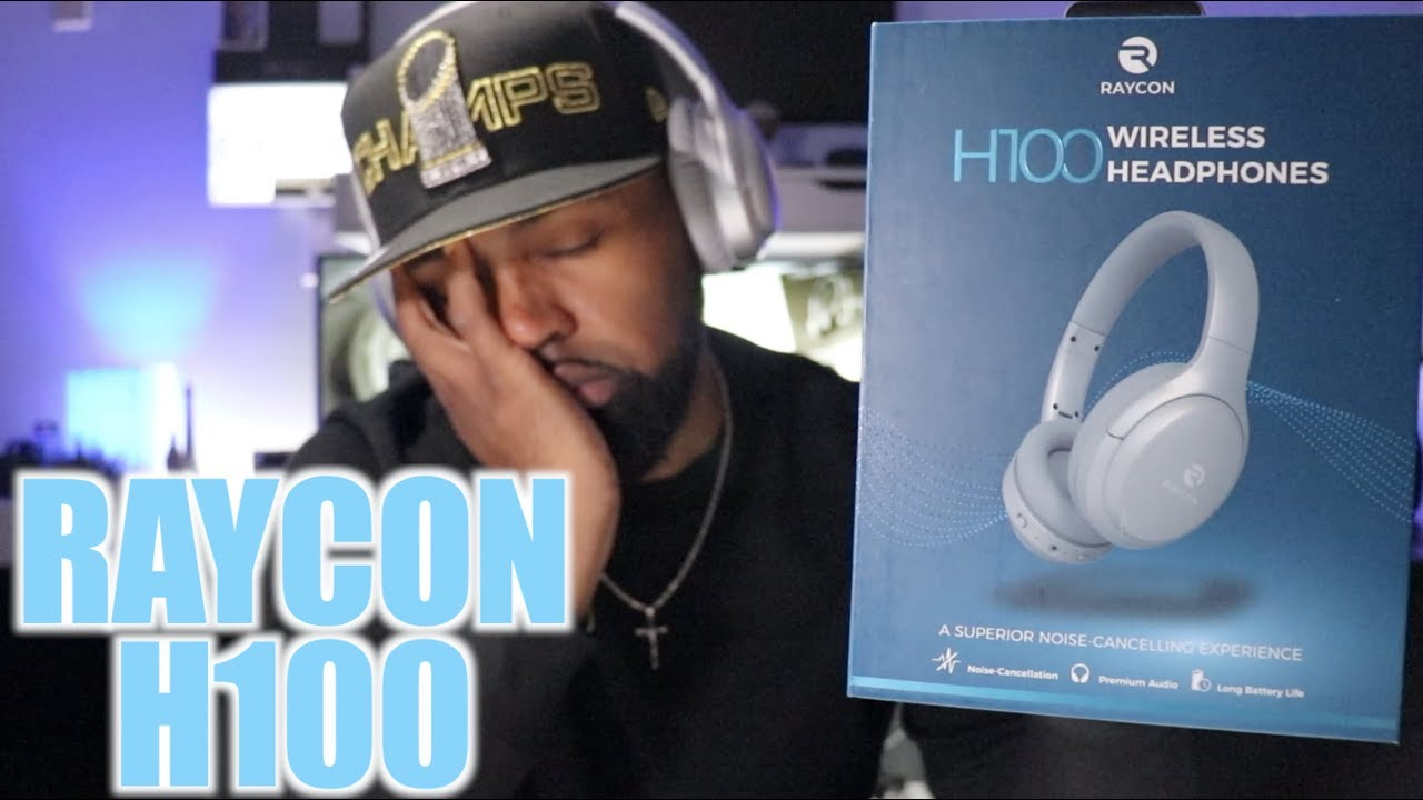 Raycon H100 Nc Headphones Unboxing First Impressions Youtube