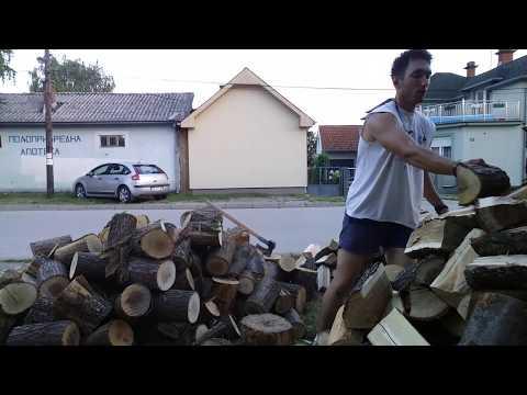 Cepanje drva drugi deo