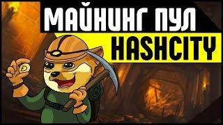 Пул для майнинга HashCity. Как заработать деньги на майнинге криптовалюты?