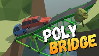 Poly Bridge - ДАВАЙ ПОСТРОИМ МОСТ