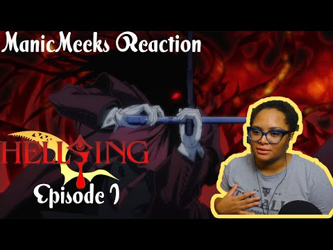 HELLO DARKNESS MY OLD FRIEND!! | Hellsing Ultimate Episode 1 Reaction!
