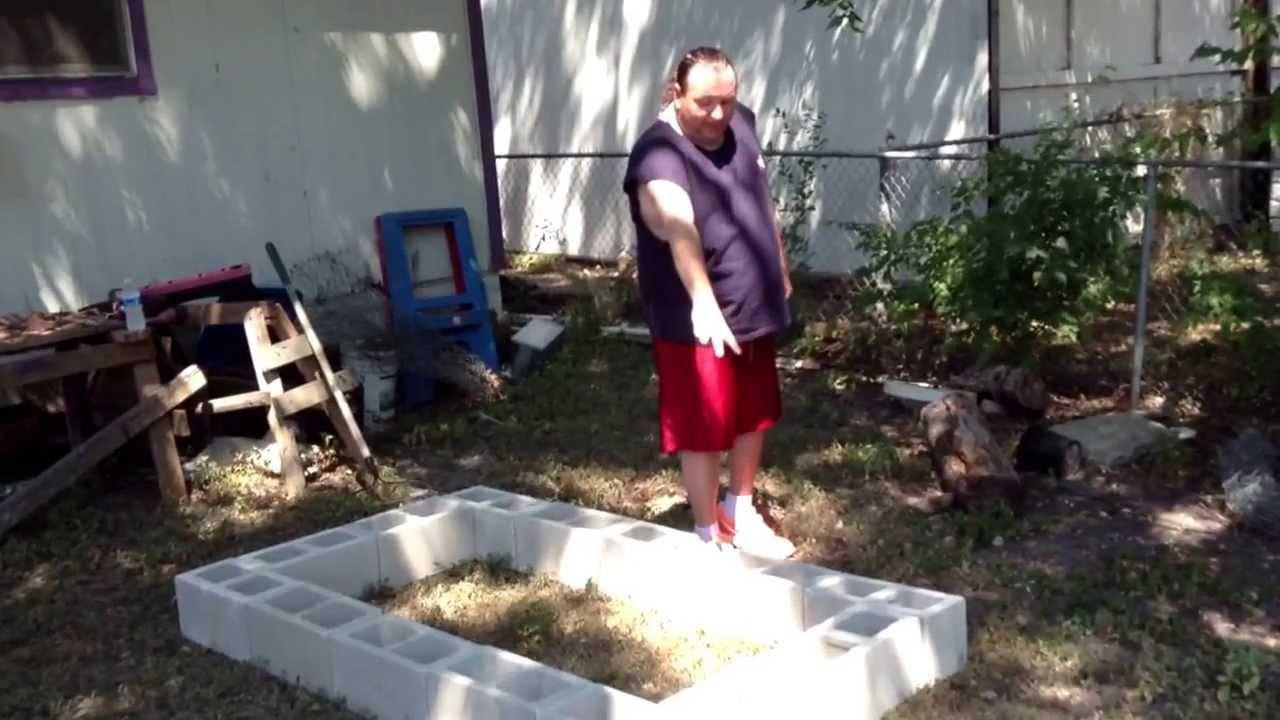 cinder block smoker build part 2 youtube