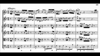 J.S. Bach - BWV 1043 - (3) Allegro d-moll / D minor