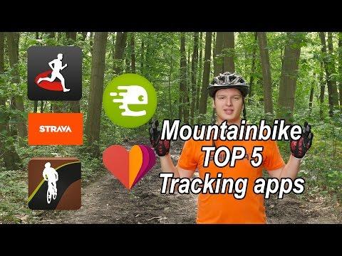Top 5 Mountainbiking Tracker Apps