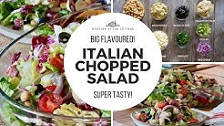 The best ITALIAN CHOPPED SALAD recipe ever!