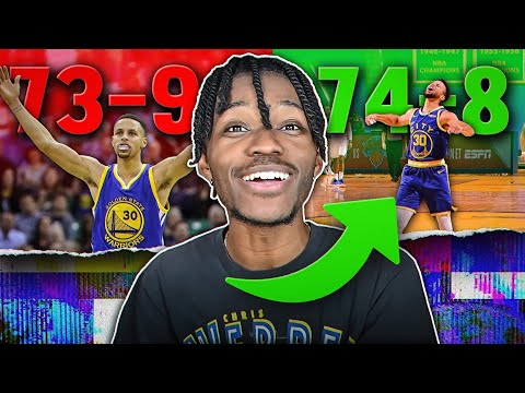 The Video Ends When a NBA Team Beats The 73 and 9 Record in NBA 2K21