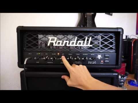 Low Wattage Monsters - Randall RD20H (metal demo)