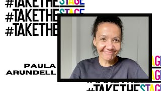 Paula Arundell shares her support for youth arts | #TAKETHESTAGE