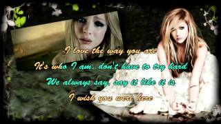 Avril lavigne - I Wish You Were Here Karaoke HD