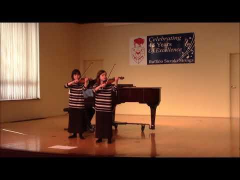 BSS Book Two Recital 2018-02-19, Kira and Nora Braun-Kolbe