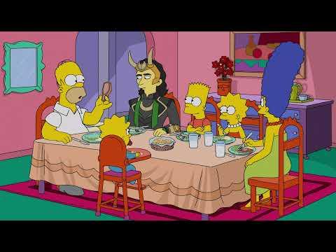 El bueno, el Bart y el Loki (Los Simpsons 2021 con las voces originales)