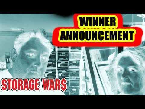Storage Wars Big Winners Announcement Abandoned Storage Units Auction