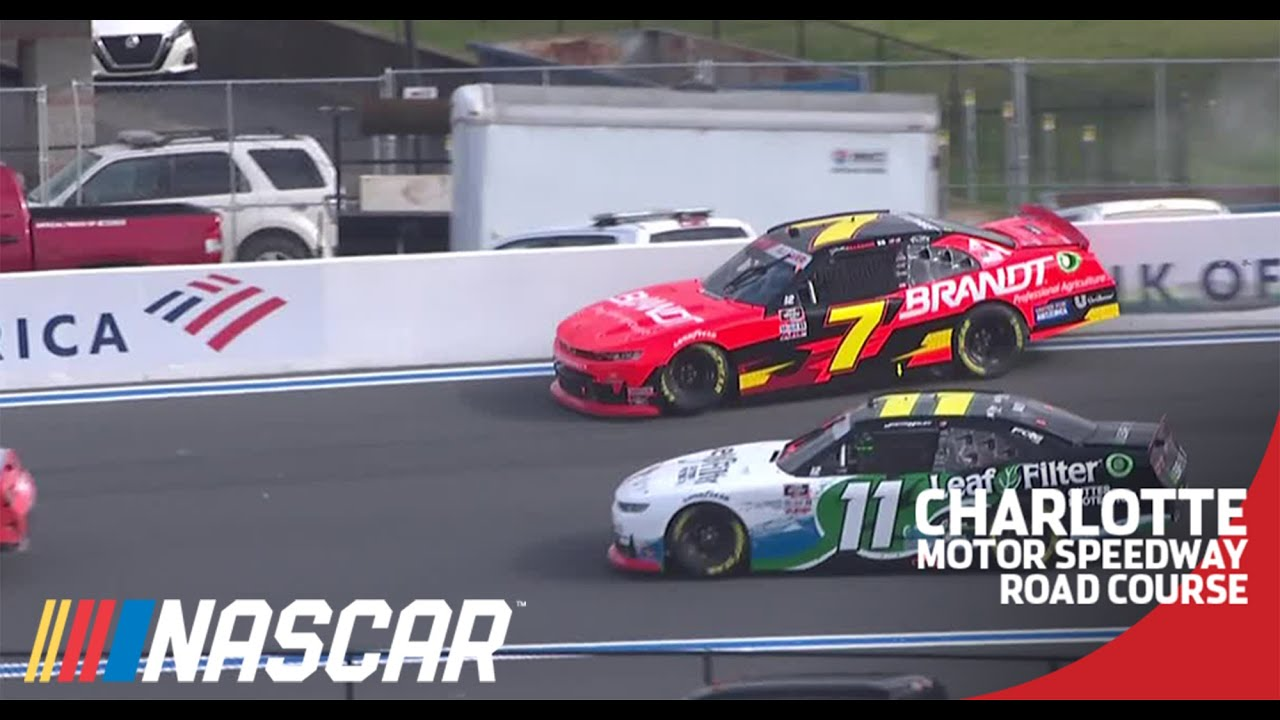 Playoff contender Justin Allgaier has big trouble early at the Roval | NASCAR