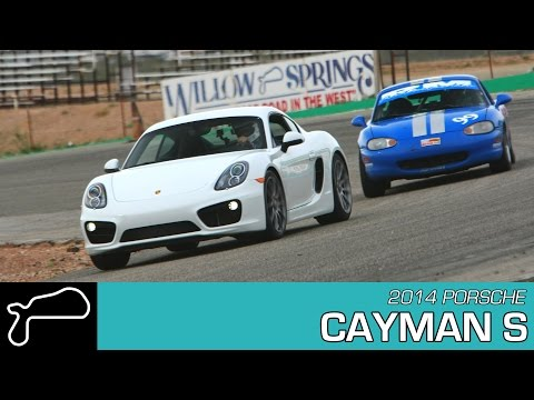 2014 Porsche Cayman S - Willow Springs Big Willow