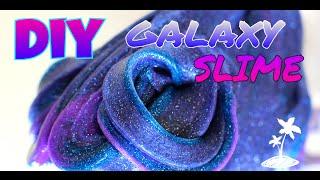 CARA MEMBUAT/HOW TO MAKE  GALAXY SLIME