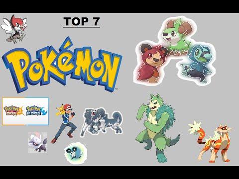 Pokemon Sun & Moon's Top 7 New Pokemon