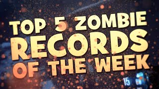 Top 5 Zombie Records of the week [#3] | July 17th - July 31st