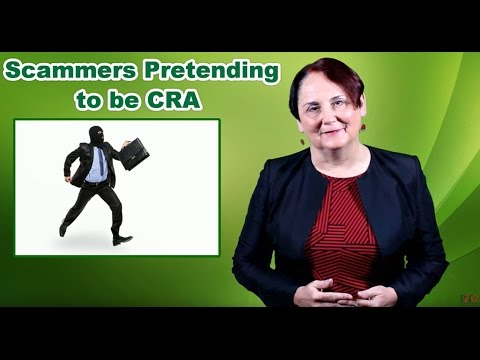 Scammers Pretending to be CRA (Canada Revenue Agency)