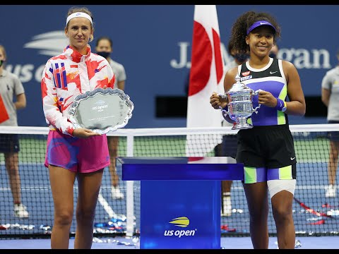 US Open 2020 Women's Singles Trophy Presentation