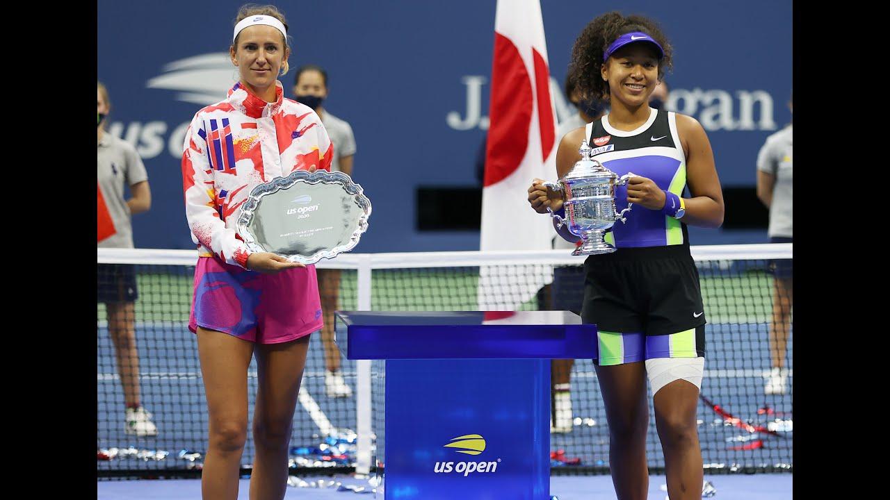 US Open 2020 Women's Singles Trophy Presentation