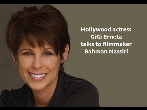 Hollywood  Actress GiGi Erneta talks to Iranian Filmmaker
