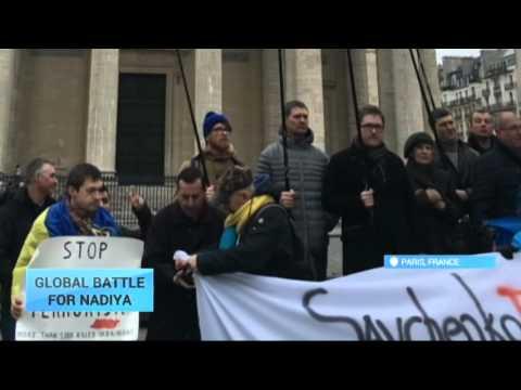 Global Battle for Nadiya: #FreeSavchenko demonstrations held across the world