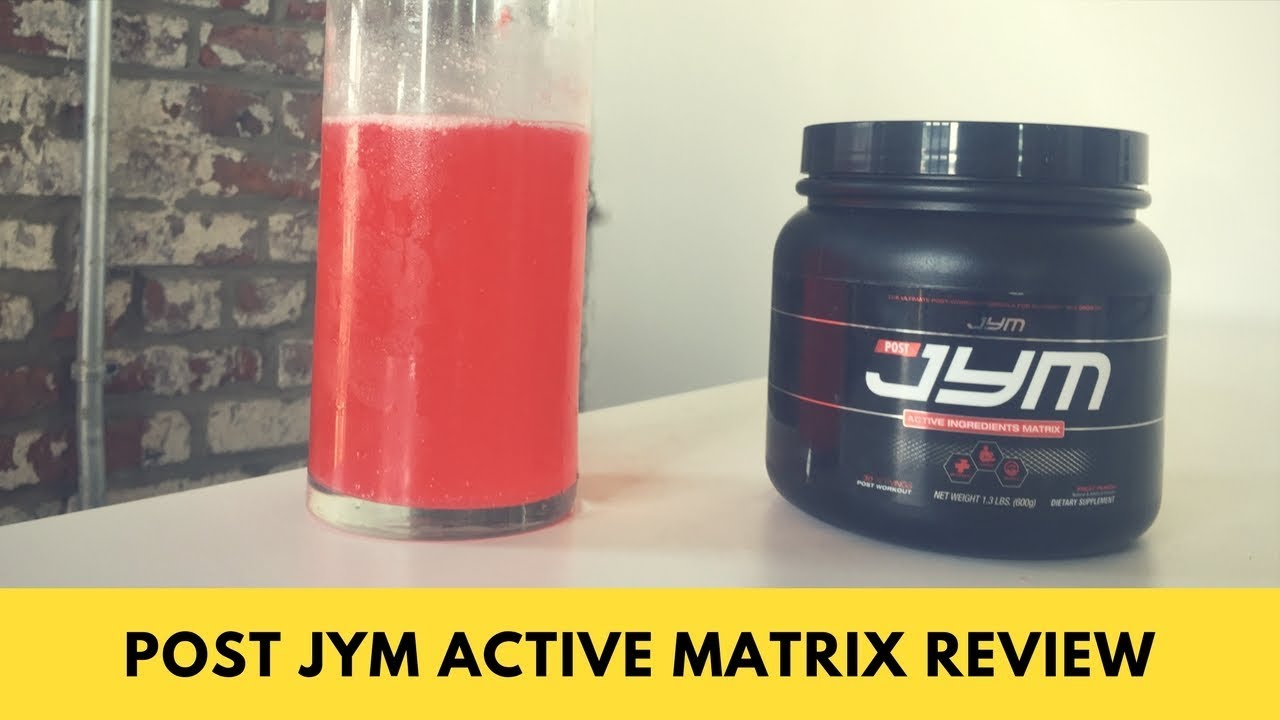 Post Jym Active Matrix Review Youtube