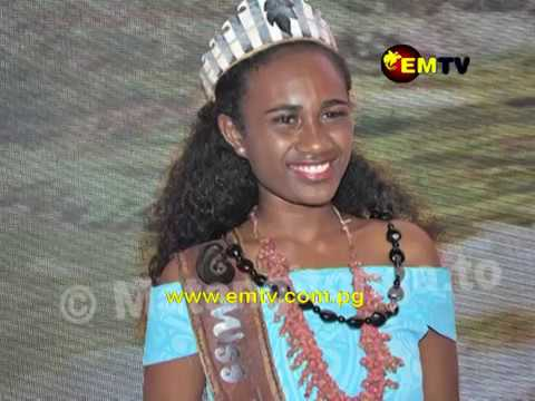 Miss PNG Wins Miss Pacific Islands 2018 Pageant
