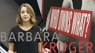 Video Barbara Kruger – Consumerism, Power and the Everyday | Fresh Perspectives download MP3, 3GP, MP4, WEBM, AVI, FLV Juni 2018