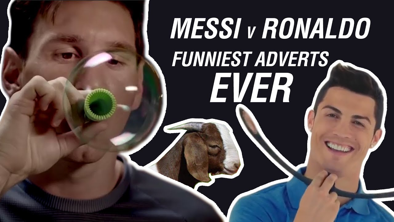 Messi Vs Ronaldo Funniest Adverts Ever Youtube