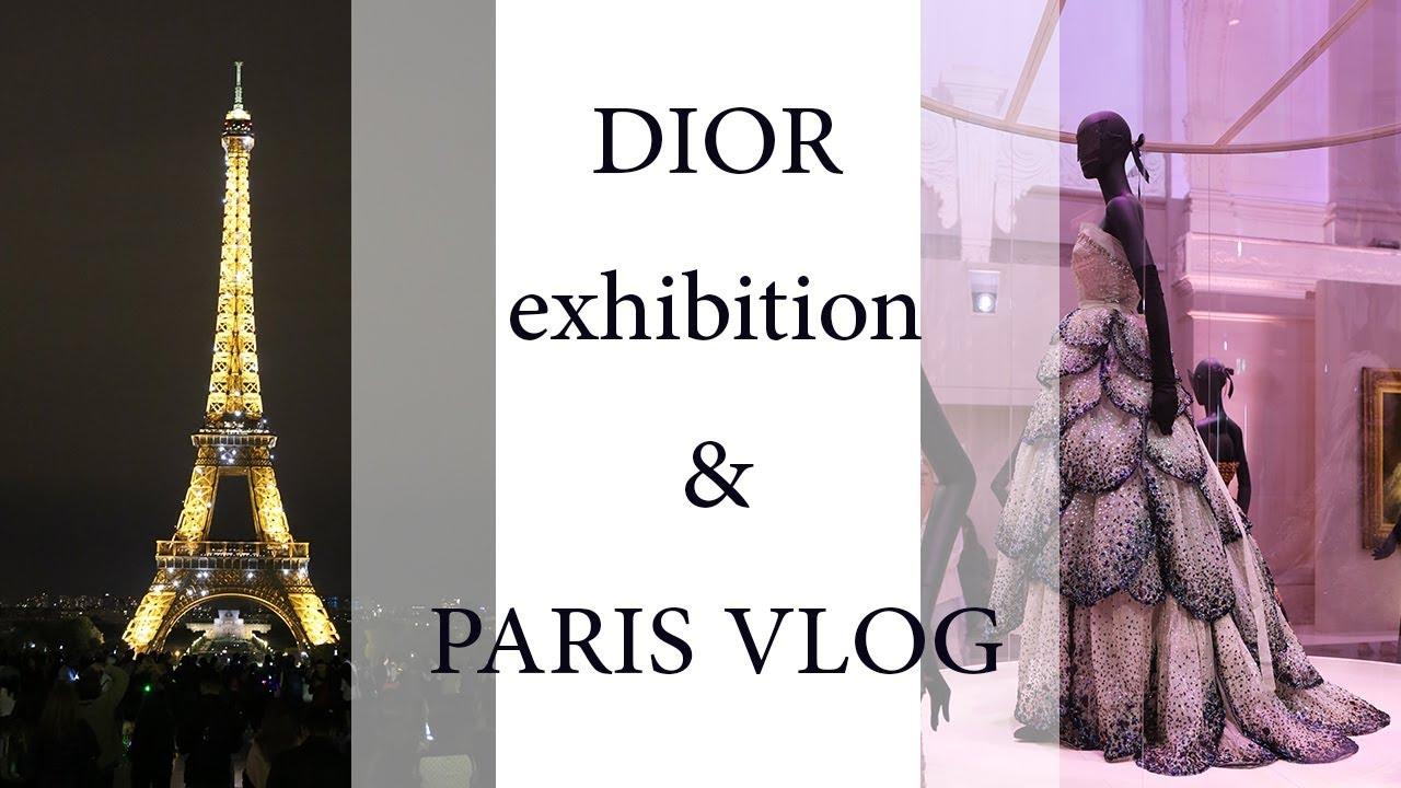 Christian Dior - Designer of Dreams exhibition & Paris VLOG - LIVING LIKE GOLIGHTLY