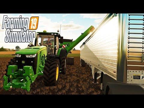 В ГОСТЯХ НА ФЕРМЕ ДРУЗЕЙ! Farming Simulator 19