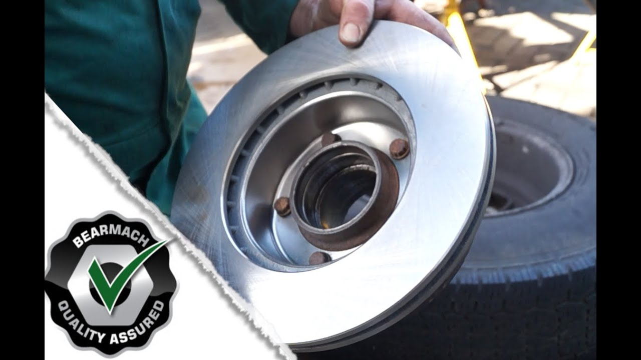 replacing vented brake discs defender discovery 1 the fine art of land rover maintenance [ 1280 x 720 Pixel ]