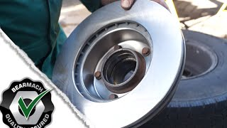 Replacing vented brake discs -  Defender / Discovery 1  - The Fine Art of Land Rover Maintenance