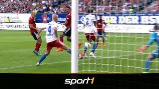 Sandro Wagner mit Hacken-Traumtor für den FC Bayern gegen den HSV | SPORT1