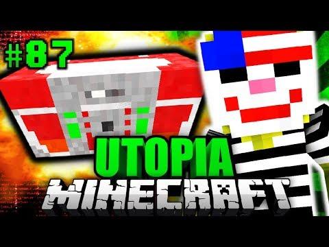 EINBRUCH ins VERBOTENE LABOR?! - Minecraft Utopia #087 [Deutsch/HD]