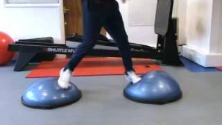 Kieron Dyer BOSU Jump & Turn