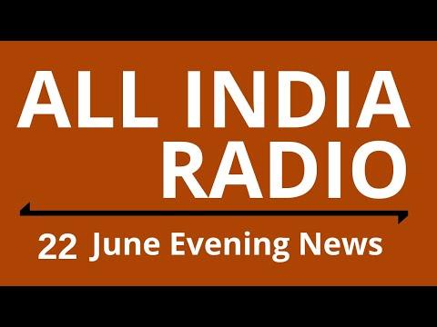 Evening News 22 June