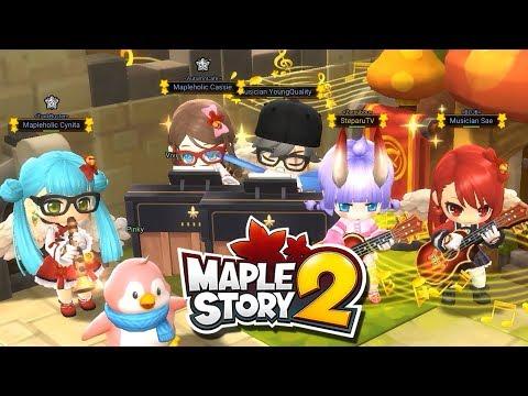 Maplestory2 Global CBT - Music Jam Ensemble Sessions