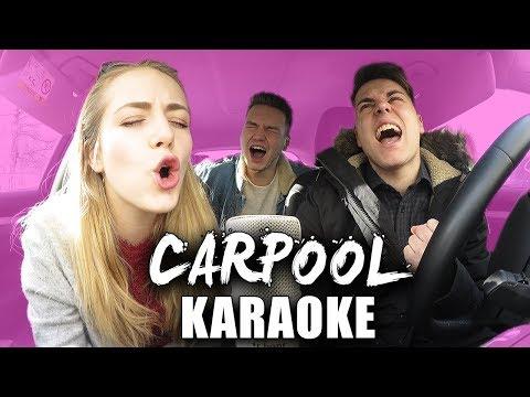 CARPOOL KARAOKE - SONGS SINGEN mit Schinken Brothers I Carina Spoon